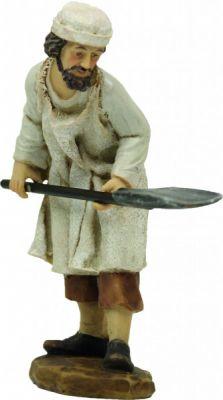 Baecker mit Brotschieber 9cm