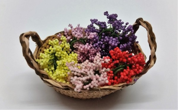 Blumenkorb oval