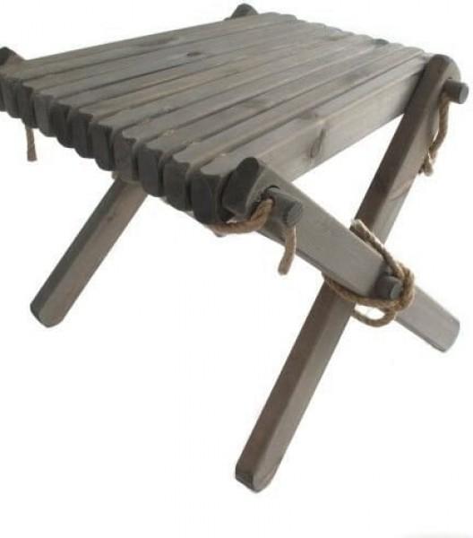 Lilli Tisch Kiefer, grau