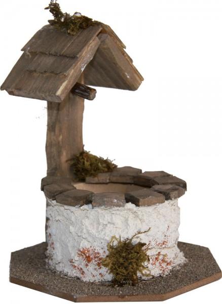 Brunnen rund,  Höhe 9,5cm